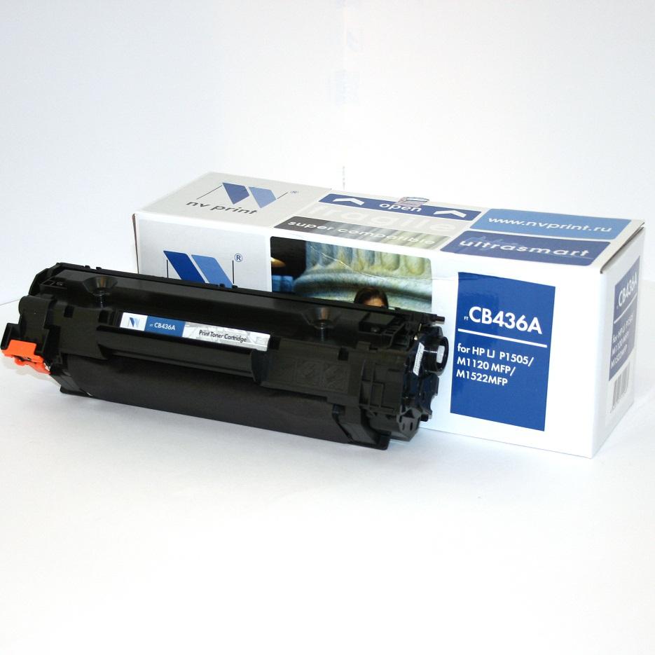 Картридж HP CB436A LJ M1120/M1520/P1505 черный  2000 страниц