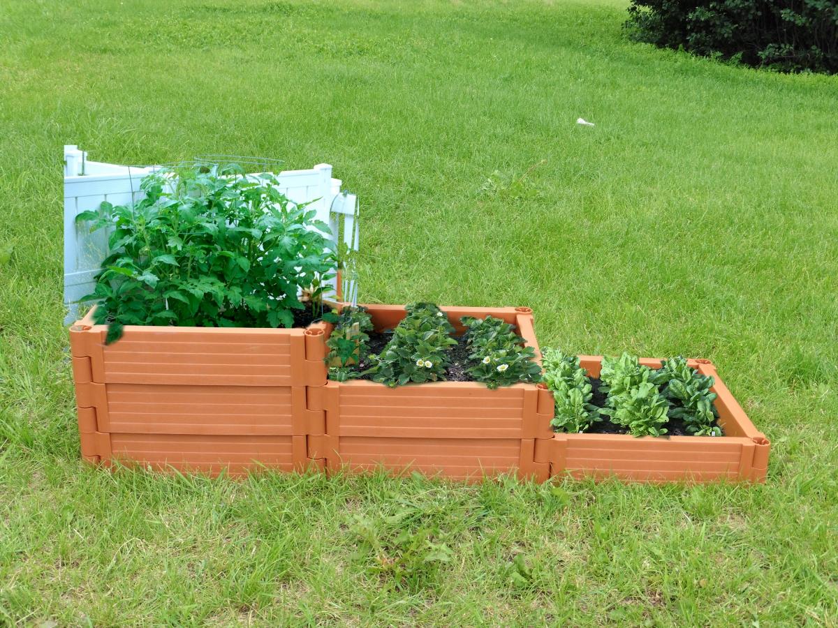 Садовые ограждения для клумб и грядок своими руками