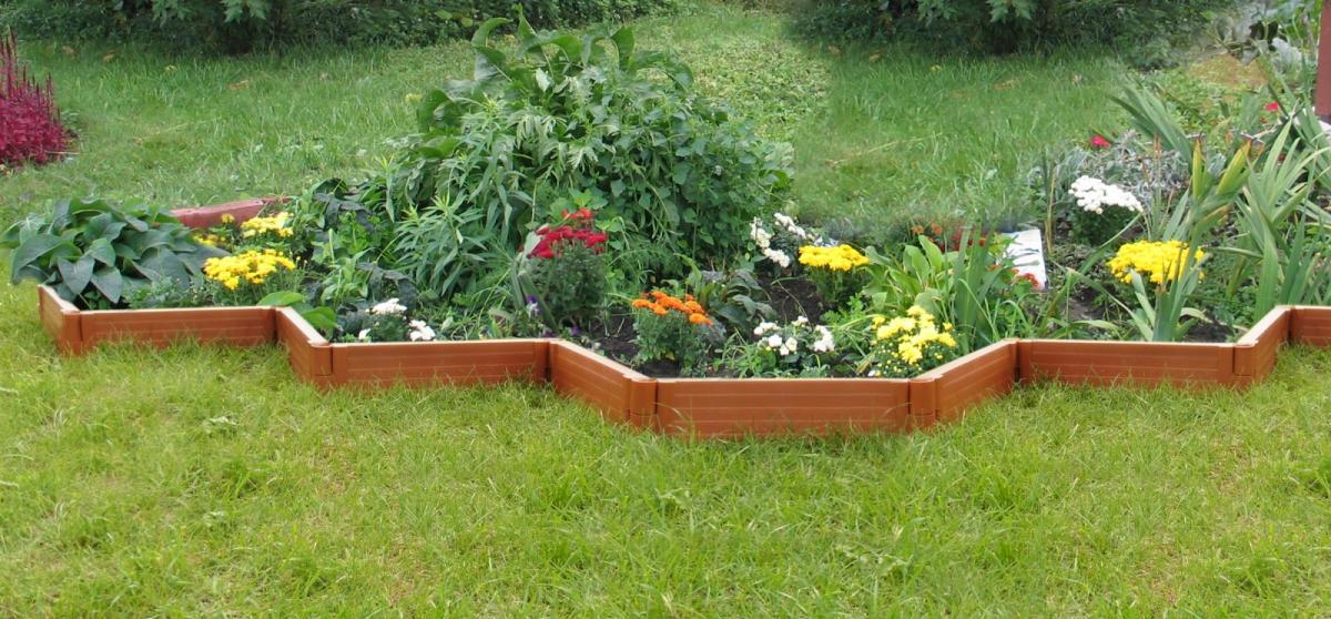 Садовые ограждения для клумб и грядок своими руками фото 1
