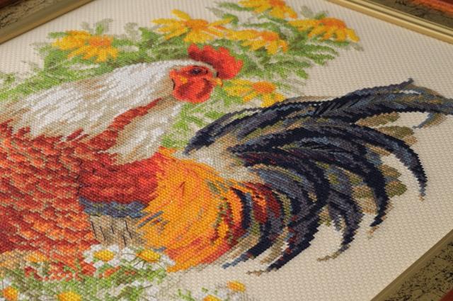 Схема для вышивания петух фото 359