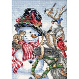 8824-DMS Snowman and Reindeer